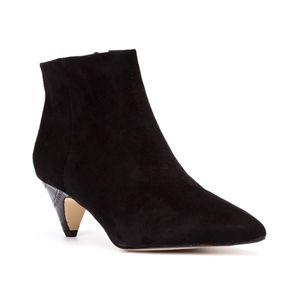 Sam Edelman Suede Lucy Pointy Toe Ankle Bootie Sz5